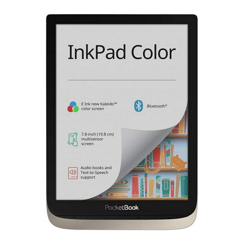 photo PocketBook - Lettore e-book''InkPad Color'' 16 GB di memoria (7,8 pollici) E-Ink New Kaleido