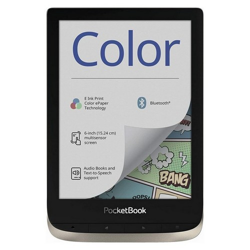 PocketBook  Lettore e-book 'Color' (16 GB di memoria, 15,24 cm (6 pollici), display a colori
